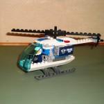 De aangepaste helikopter zonder sensor en motor.