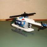De aangepaste helikopter zonder motor en sensor.