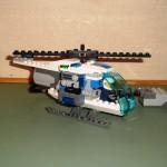 Helikopter met motor en sensor