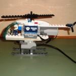 Helikopter met motor, sensor en nu ook de hub.